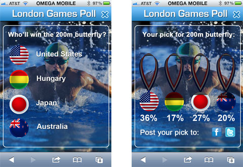 London Games Olympic Poll Concept