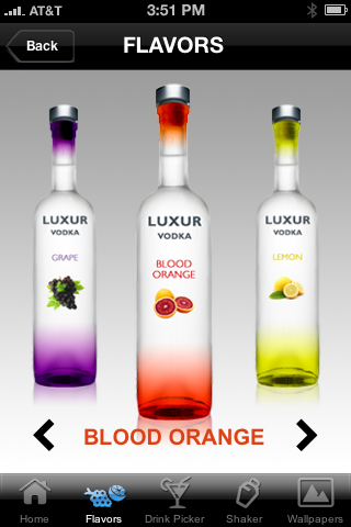 vodka flavors blood orange
